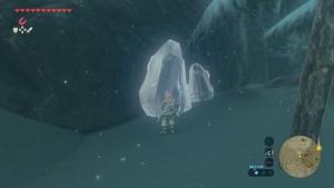 氷の岩 壊す ゼルダの伝説ブレスオブザワイルド