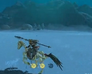骨の馬 ゼルダの伝説ブレスオブザワイルド