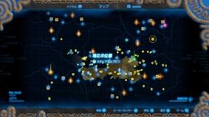 地図最小限 ゼルダの伝説ブレスオブザワイルド