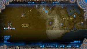 大妖精の泉の場所 ゼルダの伝説ブレスオブザワイルド