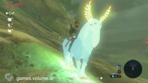 青白い馬 ゼルダの伝説ブレスオブザワイルド