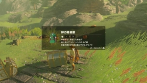緑の服 ゼルダの伝説ブレスオブザワイルド