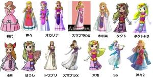 ゼルダの伝説 ゼルダ姫
