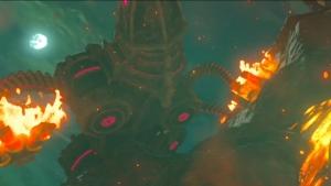 巨大生物 神獣 ゼルダの伝説ブレスオブザワイルド