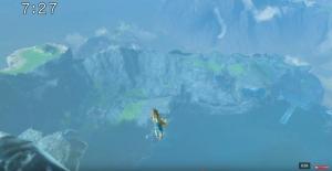 崖 ゼルダの伝説ブレスオブザワイルド