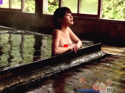 テレ東で放送された混浴特番で岸明日香のチクビ丸出しハプニング写真31枚(※ムービーもあり)