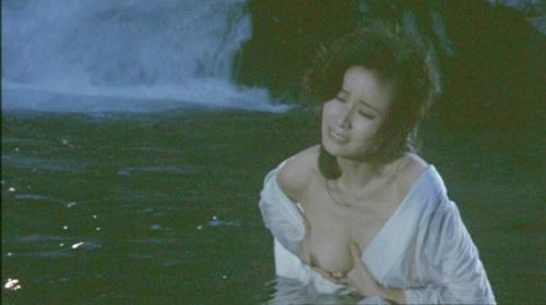 小柳ルミ子(女優濡れ場)映画「白蛇抄」での美巨乳丸出しねっとりSEX映像