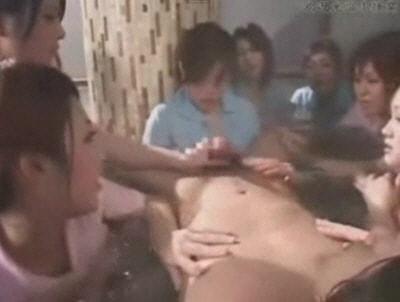 混浴でCFNM