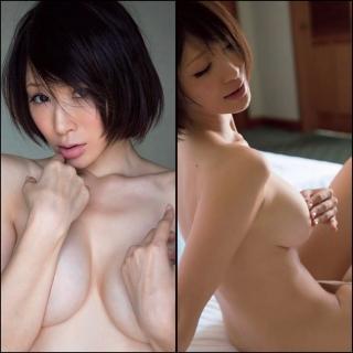 手島優が95cm Iカップ裸体を限界まで魅せるセミヌードグラビア