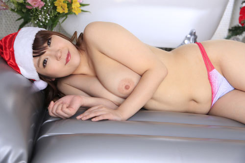 愛乃まほろのおっぱいサンタソープ嬢47