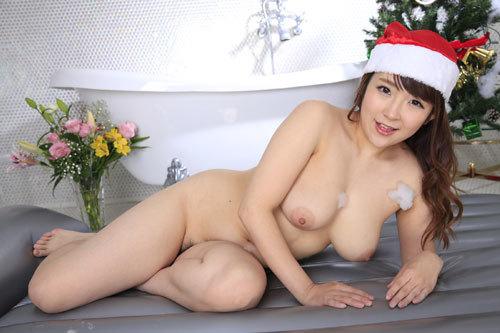 愛乃まほろのおっぱいサンタソープ嬢67