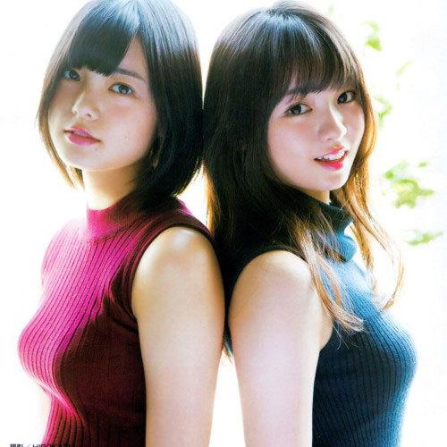 欅坂46 平手友梨奈×今泉佑唯 おっぱいの存在感ハンパない巨乳ニットグラビア