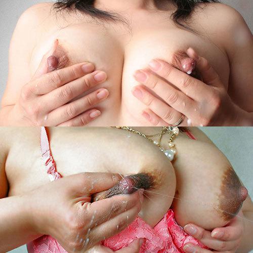 【母乳オッパイ画像】ミルク満タンで弾けそうな巨乳から母乳が滴る人妻フェチ画像まとめた結果wwwwwww