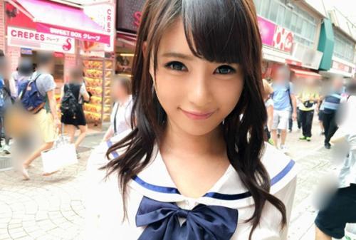 【原宿ナンパで地下アイドル萌え感セックス画像】 可愛らしい唇スベスベ柔肌!
