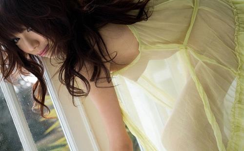 【シースルーエロ画像】スッケスケの着衣が破廉恥すぎるシースルー特集