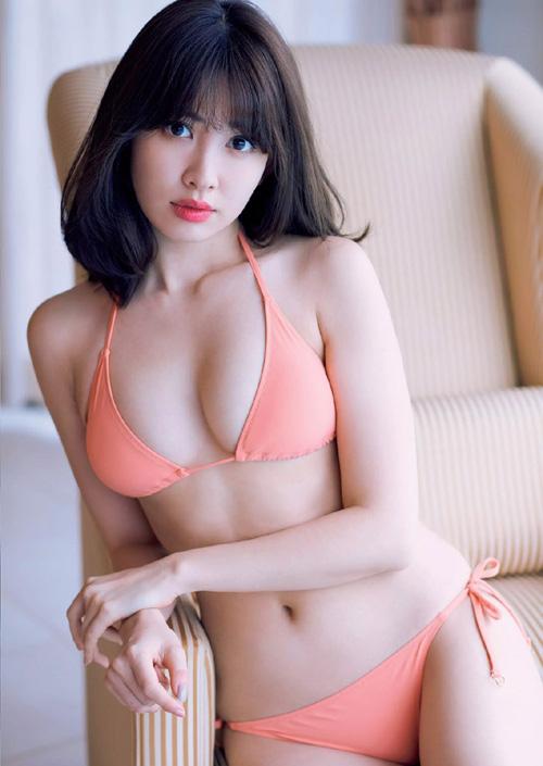 小嶋陽菜(28) AKB史上最高のセクシー女神の卒業グラビア。