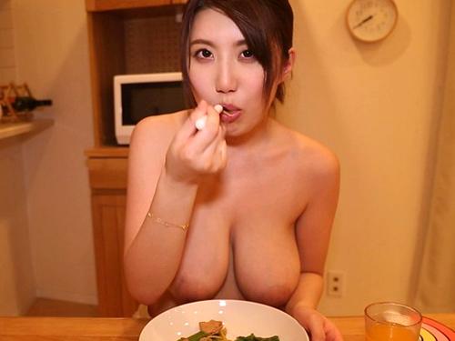 藤咲エレンがオレのカノジョならHカップの天然物物ロケット乳お乳モミ放題だぜ