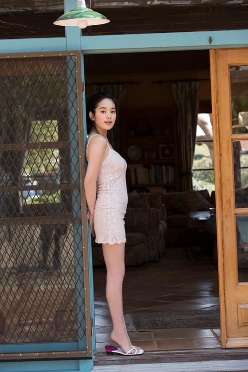 筧美和子が全裸でプールにはいっておっぱいとお尻丸出し22