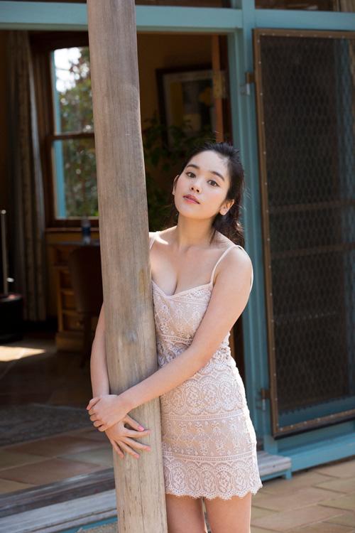 筧美和子が全裸でプールにはいっておっぱいとお尻丸出し23