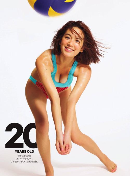 筧美和子が全裸でプールにはいっておっぱいとお尻丸出し35