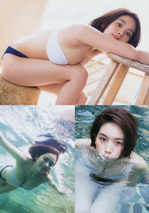 筧美和子が全裸でプールにはいっておっぱいとお尻丸出し39