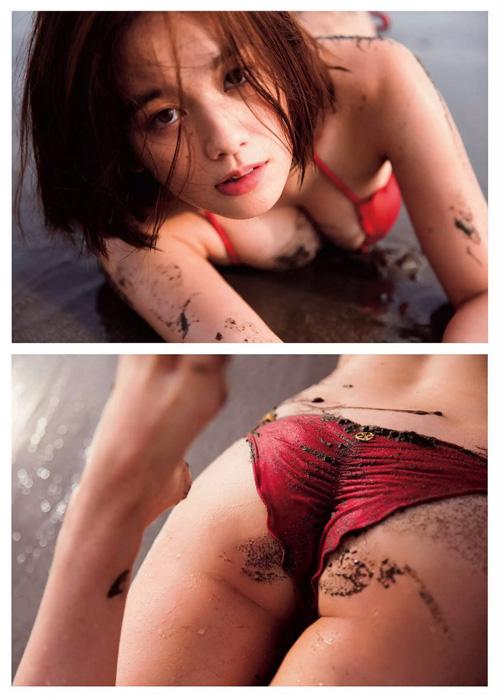筧美和子が全裸でプールにはいっておっぱいとお尻丸出し45
