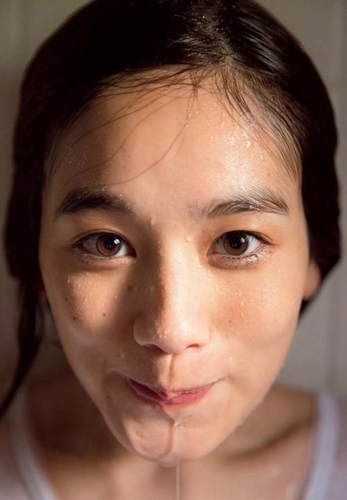 筧美和子が全裸でプールにはいっておっぱいとお尻丸出し47