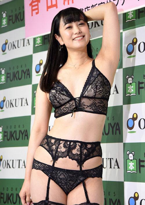 脊山麻理子(37歳)下着姿でDVDをPR!!