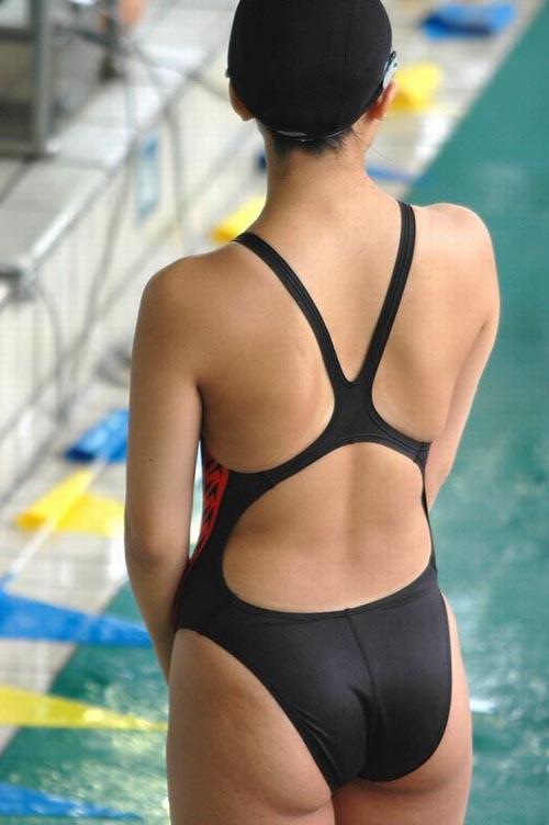 素人版競泳水着のお尻画像48枚!リアルな水泳部の女子たちのお尻はコチラ