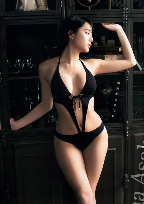 浅川梨奈(18) 幼顔美少女の超高校級グラビア!画像×192