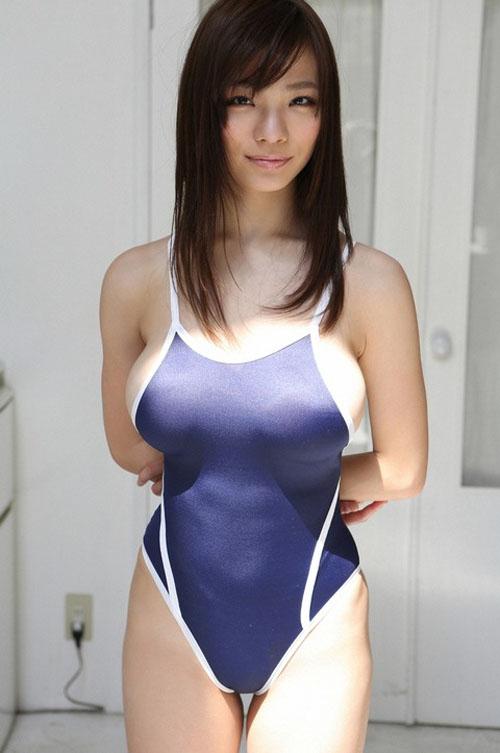 【画像】競泳水着×巨乳×はみ乳=最強wwwwwwwwwwwww(24枚)