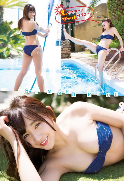 浅川梨奈のこの夏最強インパクトのおっぱい2