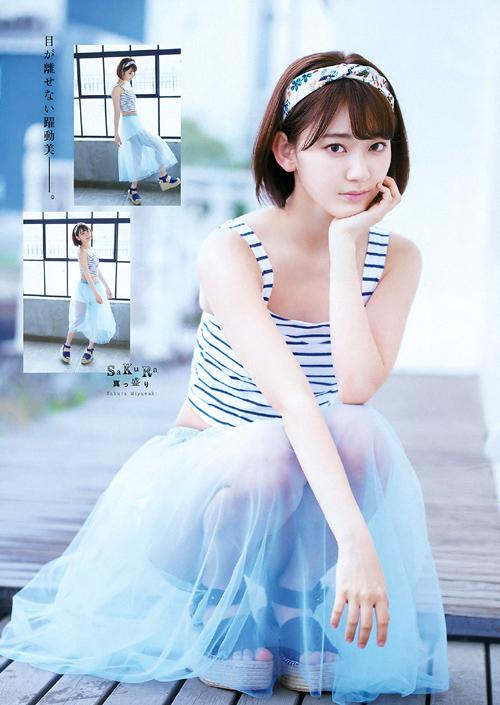 HKT宮脇咲良(19)のナチュラルSEXY。画像×19