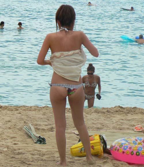 【素人水着】あー、海いきてぇーなぁ・・・海!【画像】