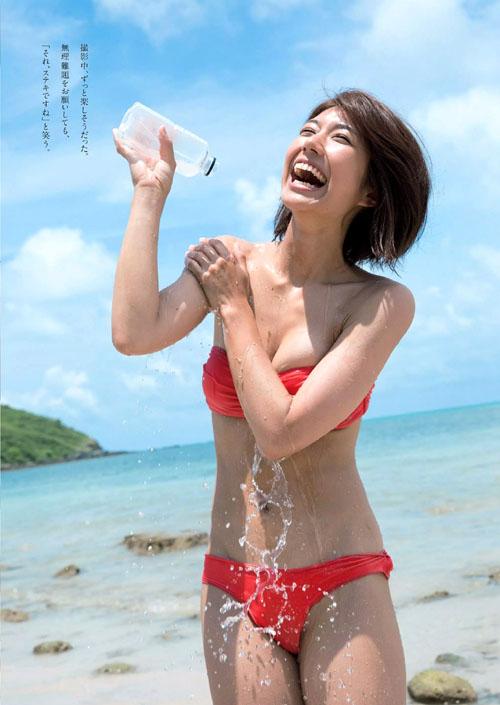 藤木由貴(24) 「史上最高に可愛いRQ」グラビア参戦!