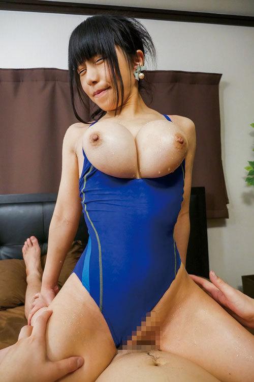 花岡加菜 黒髪Gカップ!美巨乳美女のセックス画像 175枚