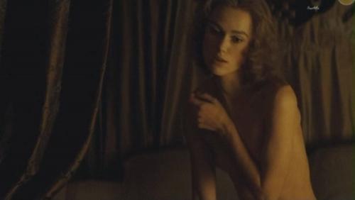 【キーラ・ナイトレイ(32)の乳首透けおっぱい】イギリス女優エロ画像40枚!