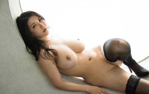 沖田杏梨のLカップ美爆乳おっぱい 30