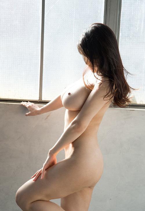 沖田杏梨のLカップ美爆乳おっぱい 49