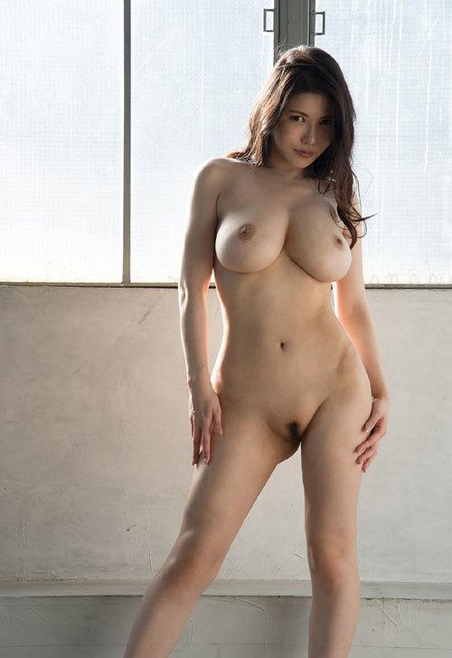 沖田杏梨のLカップ美爆乳おっぱい 50