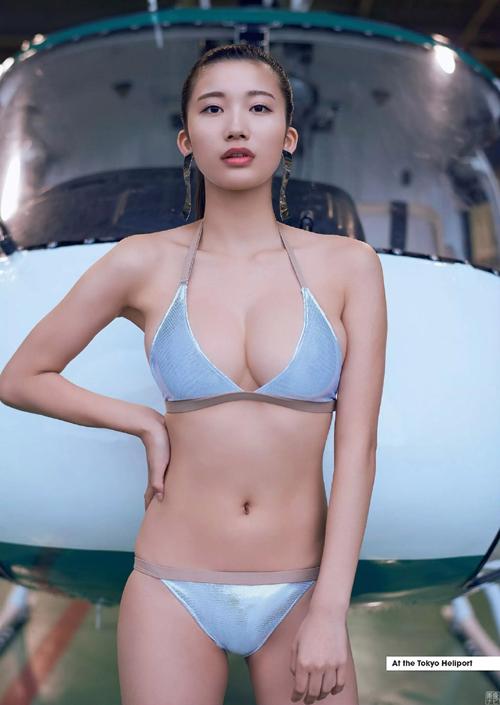 小倉優香(19) 最強のグラビア女王へ死角なしのマシュマロGカップ美少女。