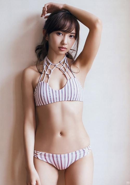 話題の超美人声優 小宮有紗(23)が水着グラビアで美乳&美尻炸裂。