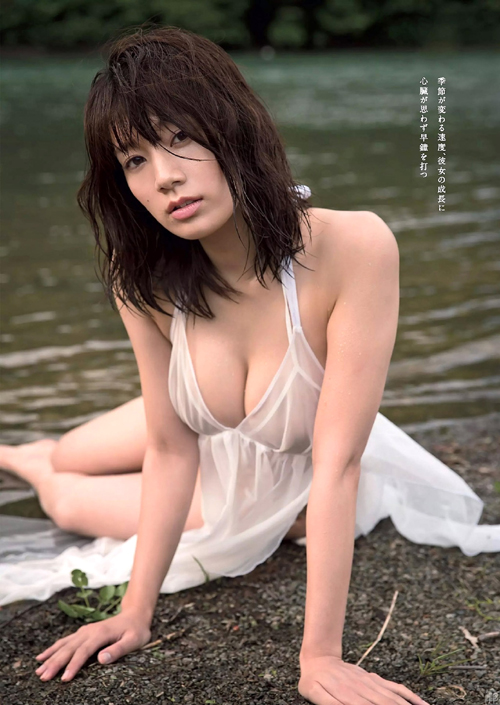 佐藤美希(24) ぷりっと美乳な色白Fカップ。