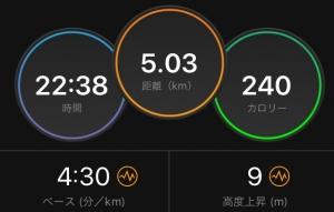 5キロ結果