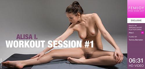 Alisa I. - WORKOUT SESSION #1