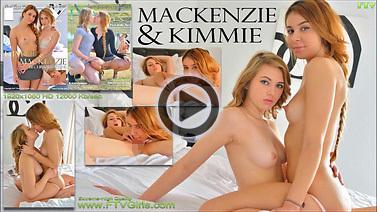Kimmie, Mackenzie - BI-CURIOUS TEENS
