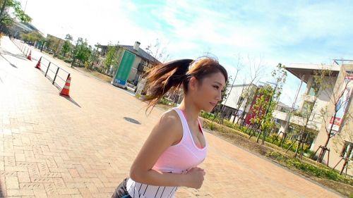 ジョギングナンパ 04 in お台場 - まお 22歳 アナウンススクール専門学生 03