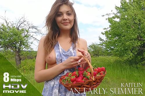 Kaitlin - AN EARLY SUMMER