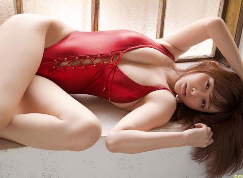 杉原杏璃 水着 エロ画像50枚 89cm美巨乳アイドルの勃起確実な変態下着&極小ビキニ画像を厳選アップ!これはたまらん!!