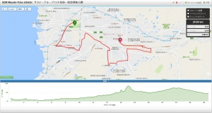 SGR Masaki-Tobe athletic サタデーグループライド松前ー砥部運動公園